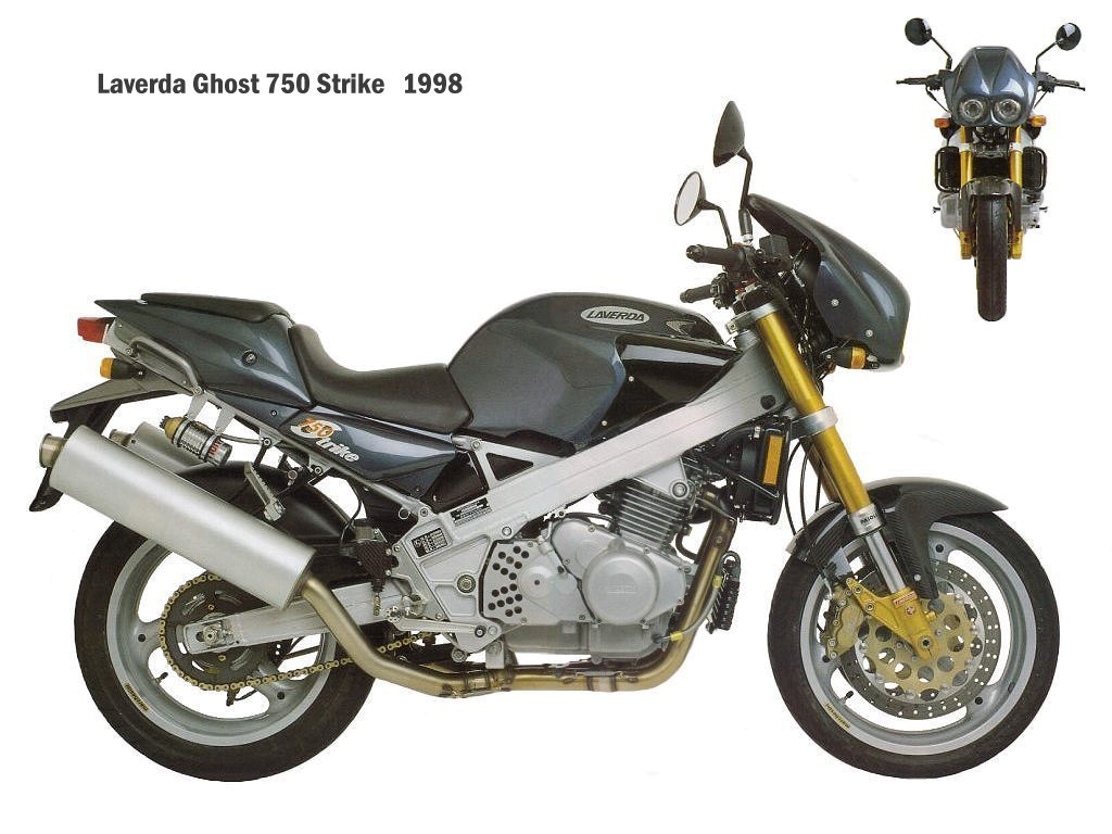 Laverda 650 Ghost Strike 1998 images #101795