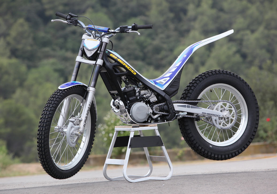 Sherco 2.9 Cabestany Replica 2008 wallpapers #129513