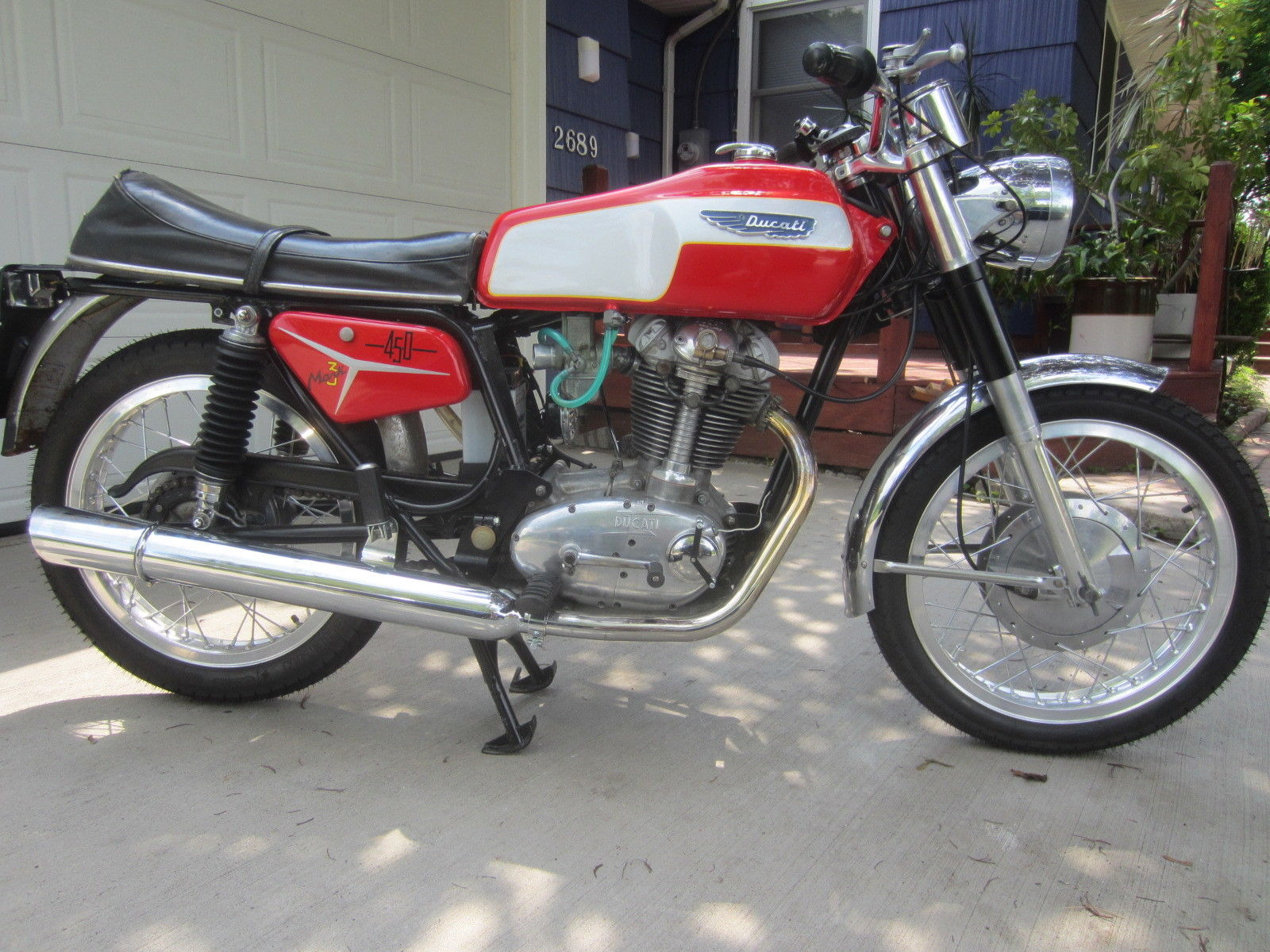 Ducati 350 Mark 3 D images #9981