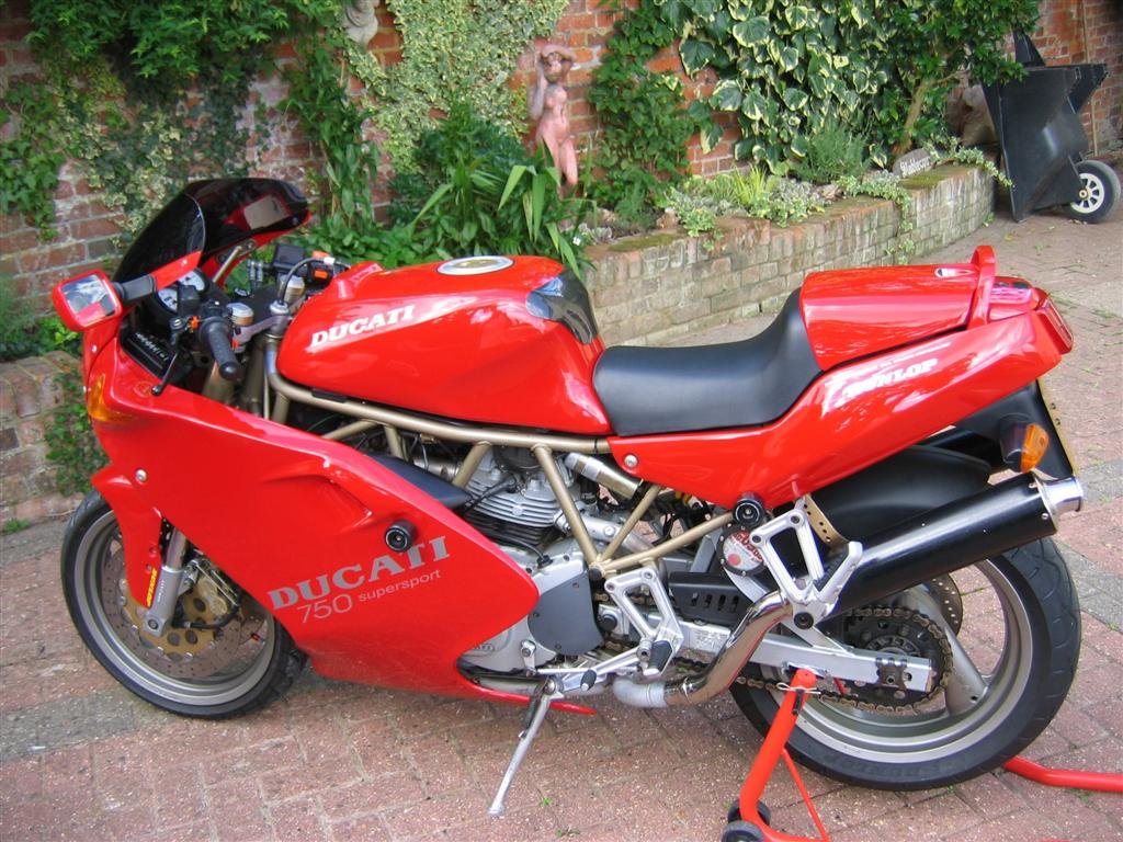 Ducati 750 SS 1994 images #78882