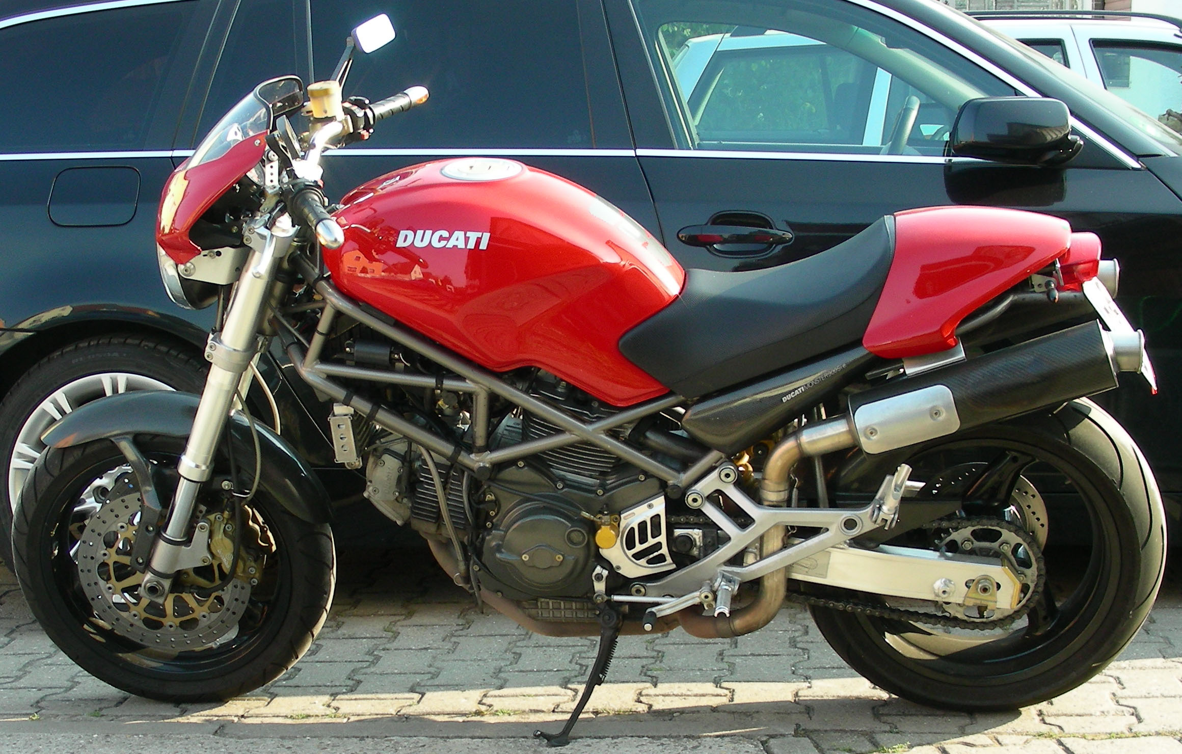 Ducati 900 Monster S 1998 images #78782
