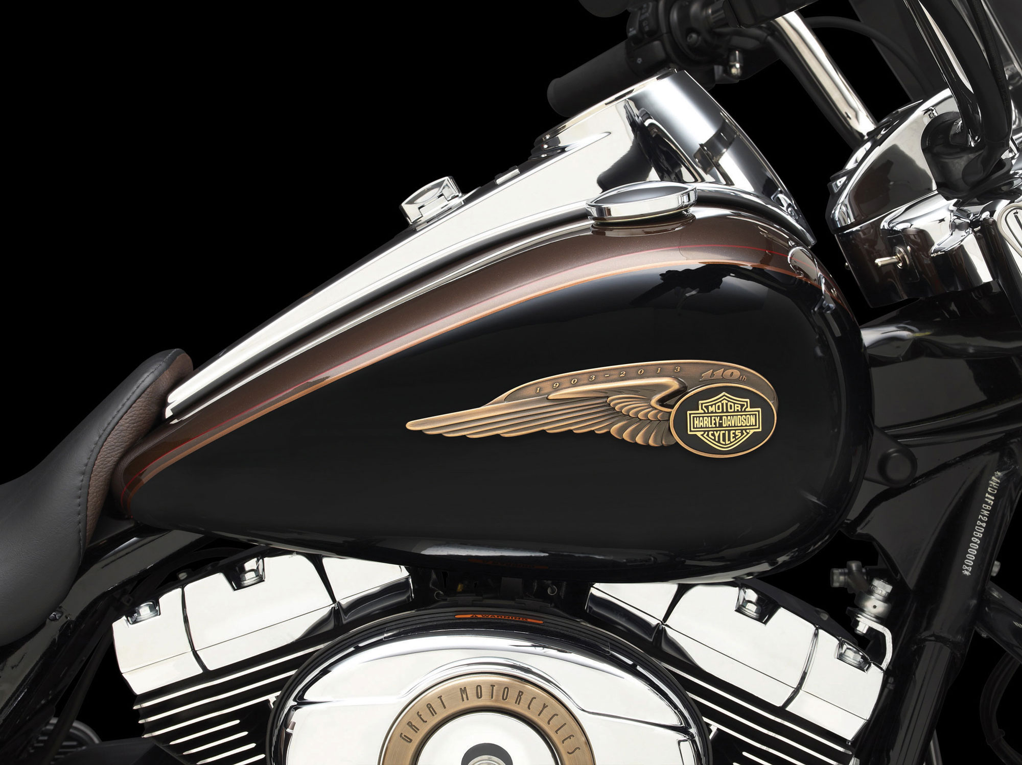 Harley-Davidson FLHR Road King 110th Anniversary 2013 images #81563