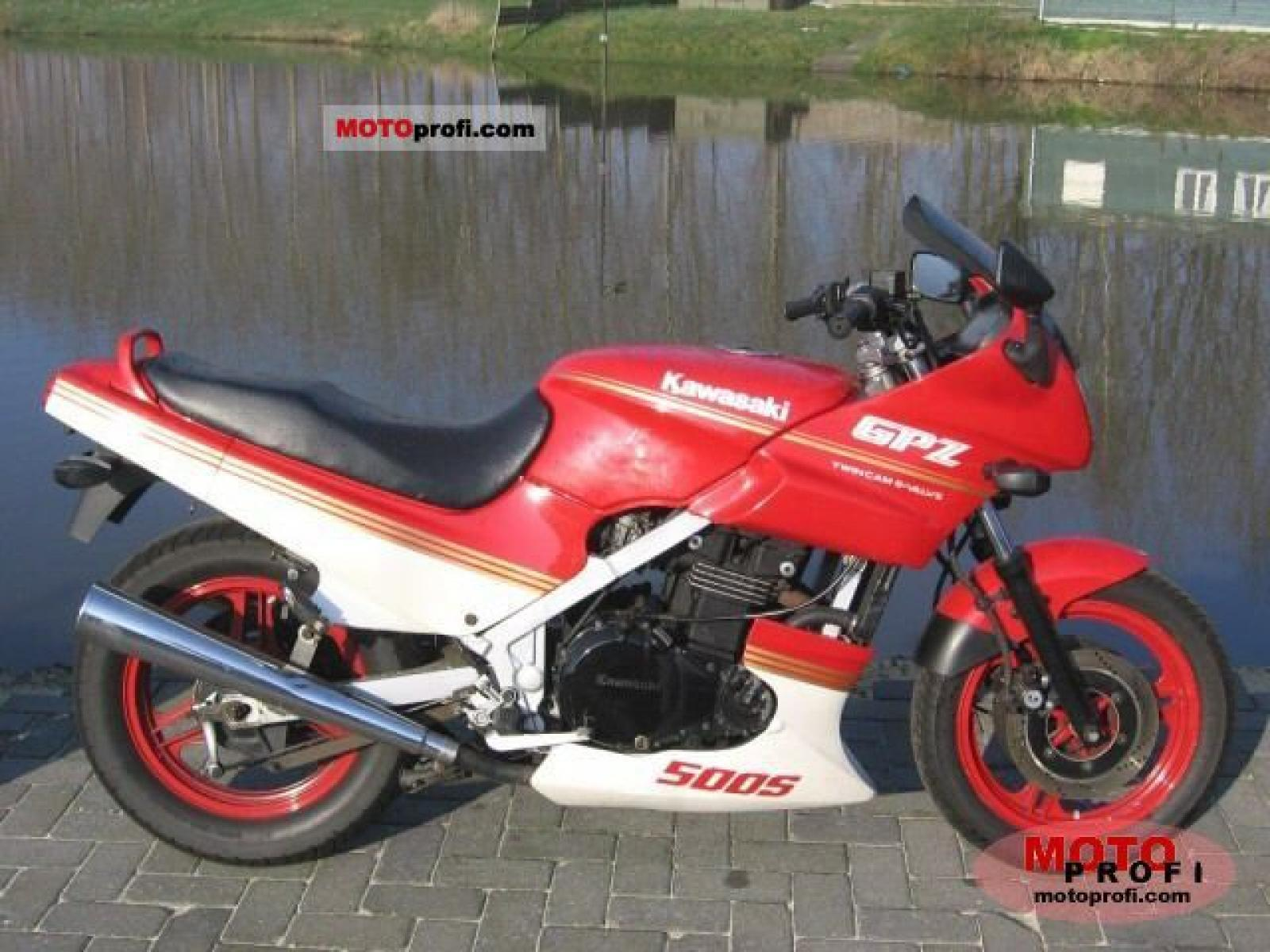 Kawasaki GPZ 500 S (reduced effect) 1988 images #83737