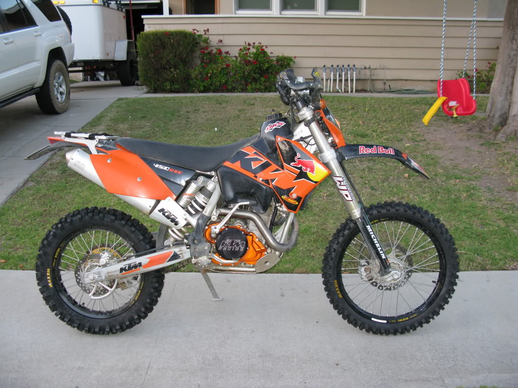 KTM 450 EXC Racing 2005 images #86419
