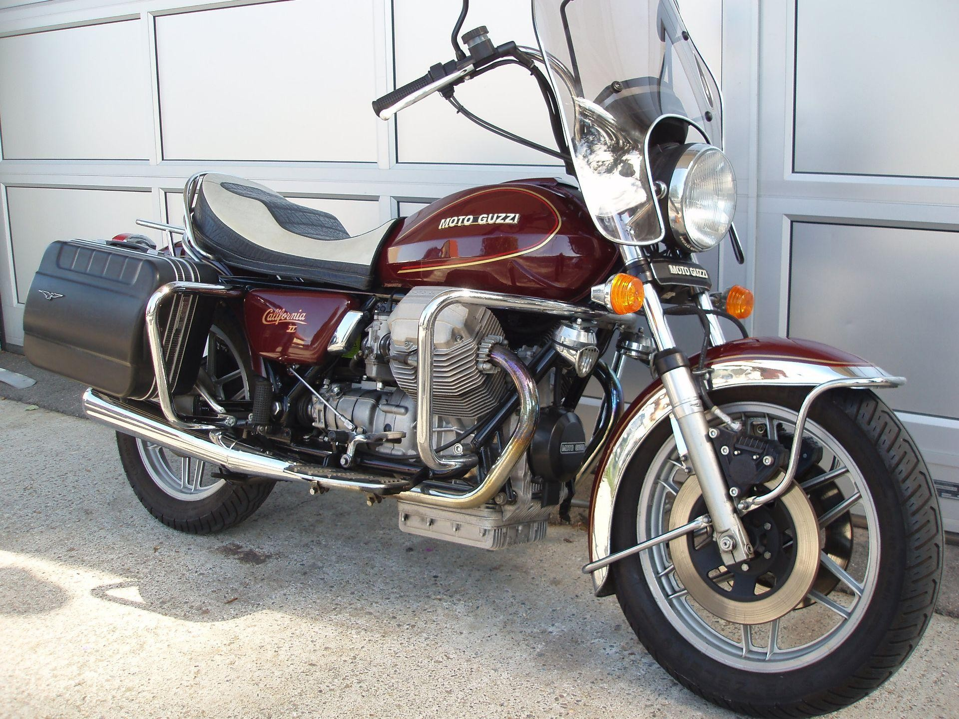 1984 moto guzzi california ii pics specs and information. Black Bedroom Furniture Sets. Home Design Ideas