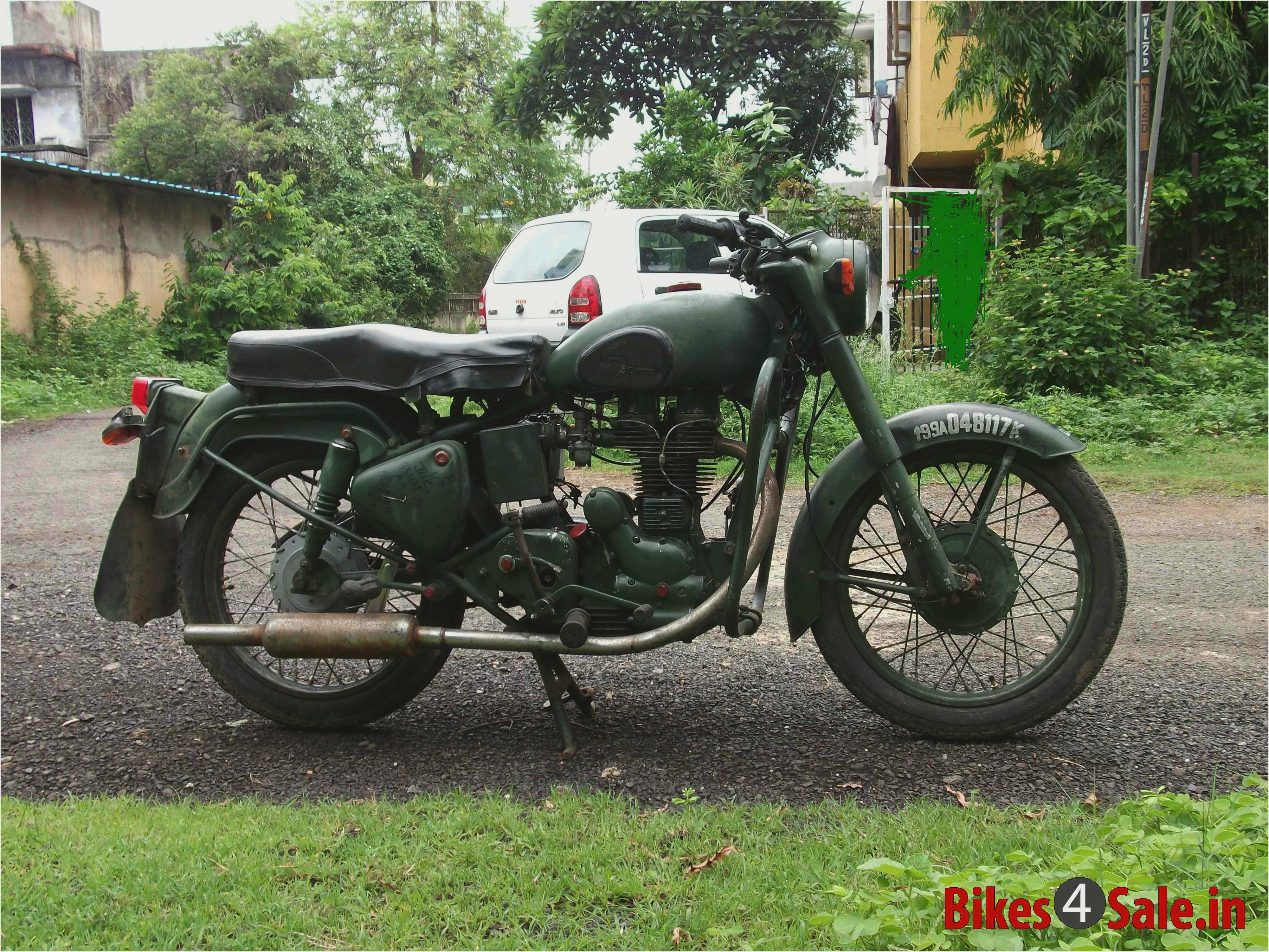 Royal Enfield Bullet 350 Army 2001 images #123100