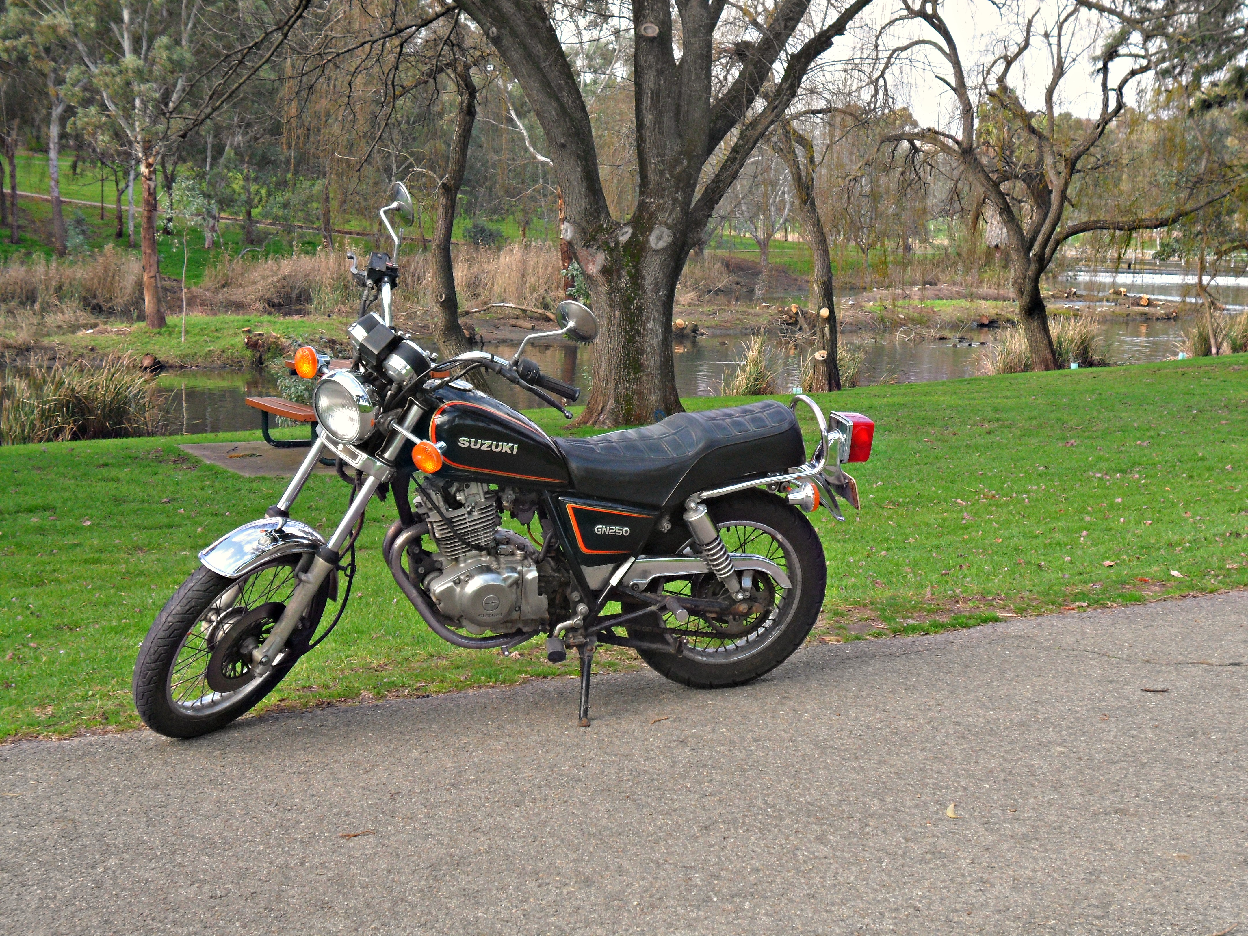 Suzuki Gn 250 Pics Specs And List Of Seriess By Year Wiring Harness Diagram Engine Images 89206