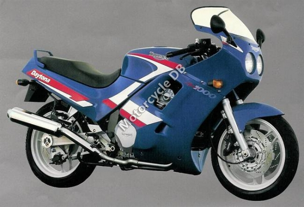 Triumph Daytona 750 reduced effect #2 1991 images #158869