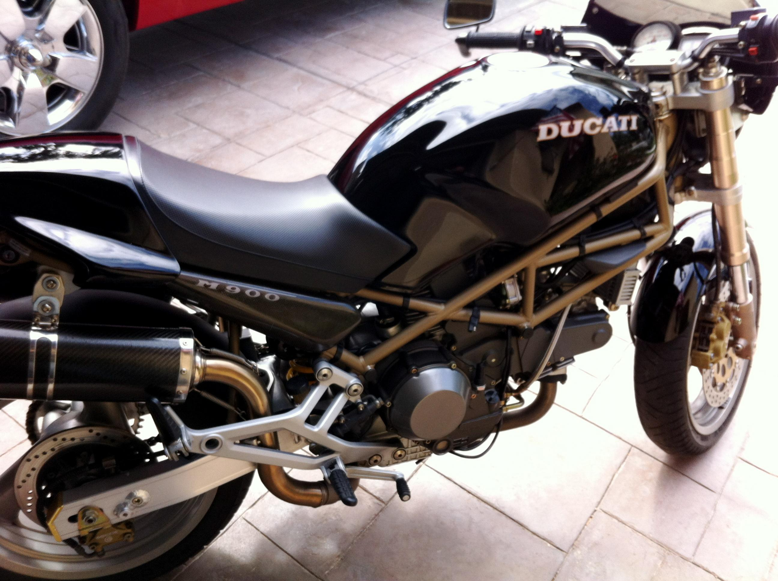 Ducati 900 Monster S 1998 images #78783