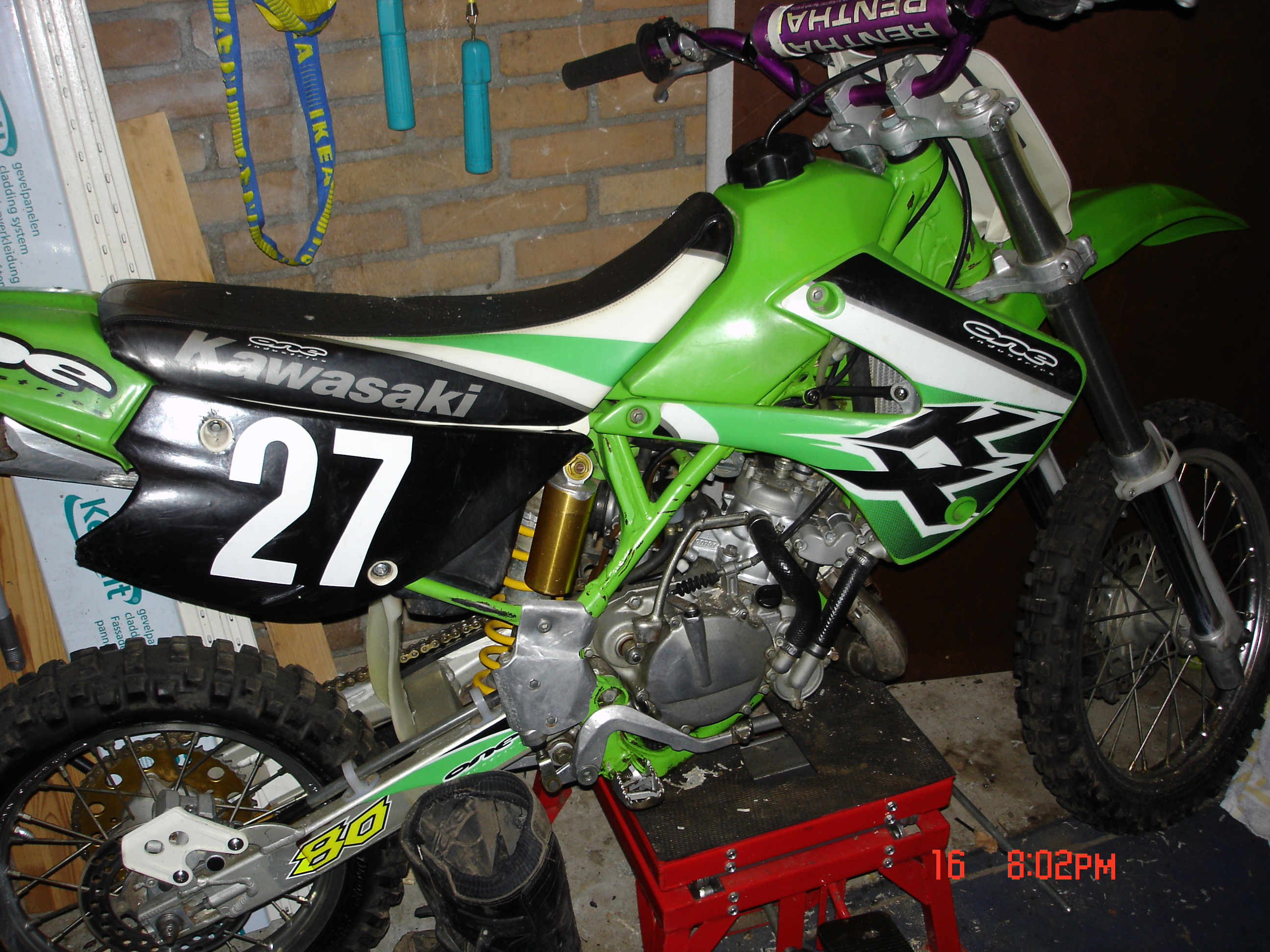 Kawasaki KX 85 II 2006 wallpapers #160558