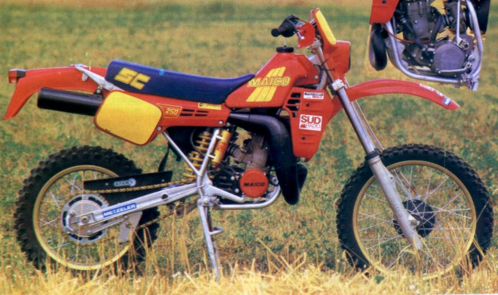 Maico GME 250 1984 images #102386