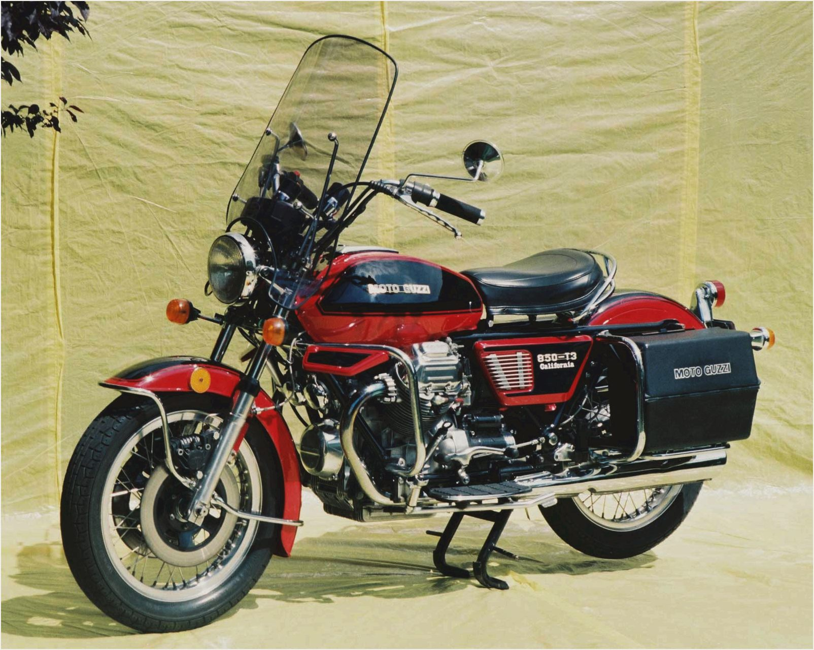 Moto Guzzi 850 California 1975 images #107133