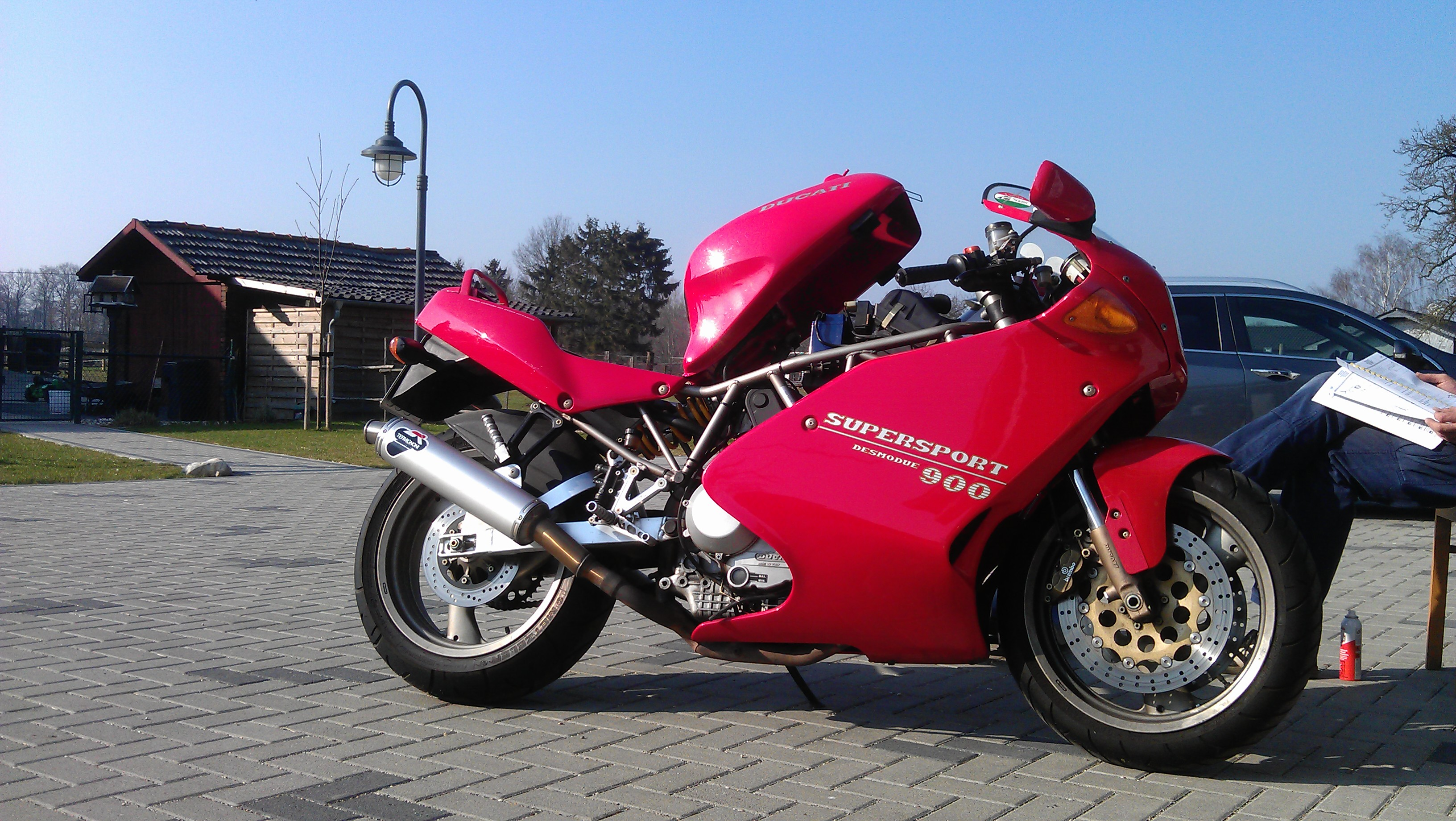Ducati 900 SS Super Sport wallpapers #10580