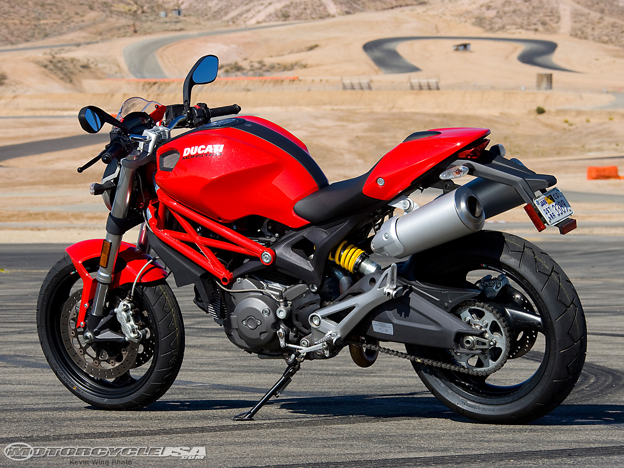 Ducati Monster 696 2014 wallpapers #13164