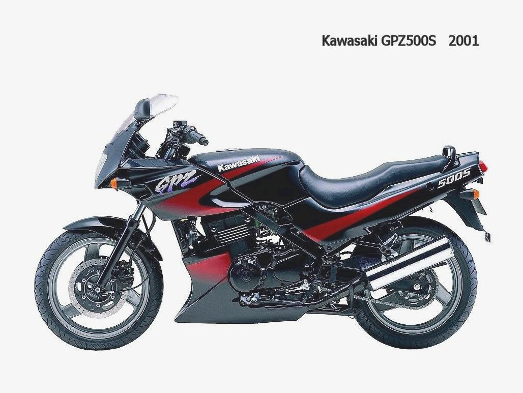 Kawasaki GPZ 500 S (reduced effect) 1988 images #83739