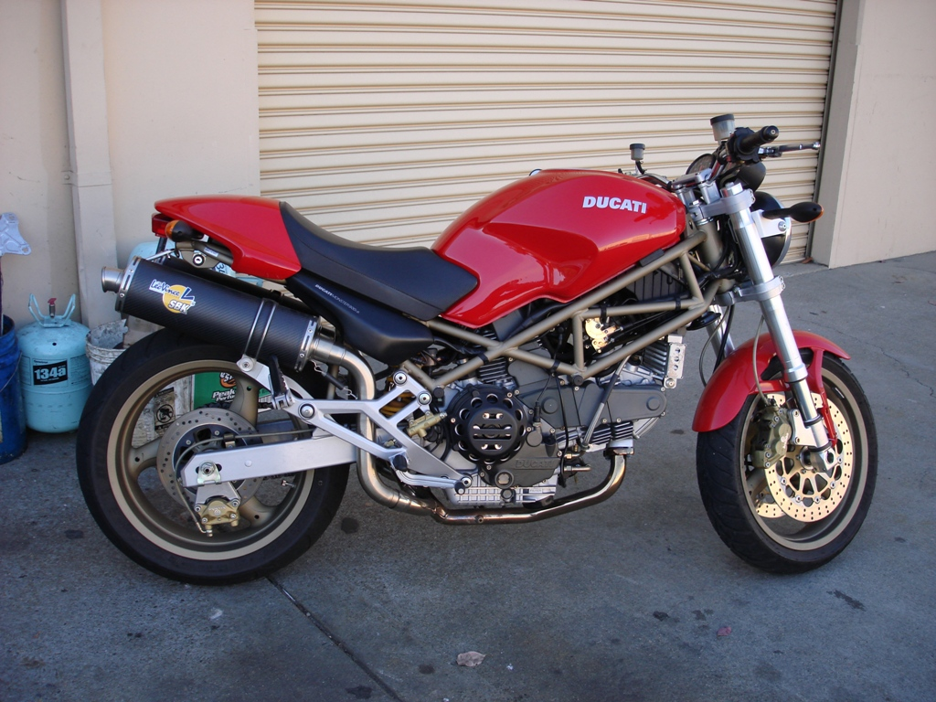 Ducati 900 Monster S 1998 images #78785