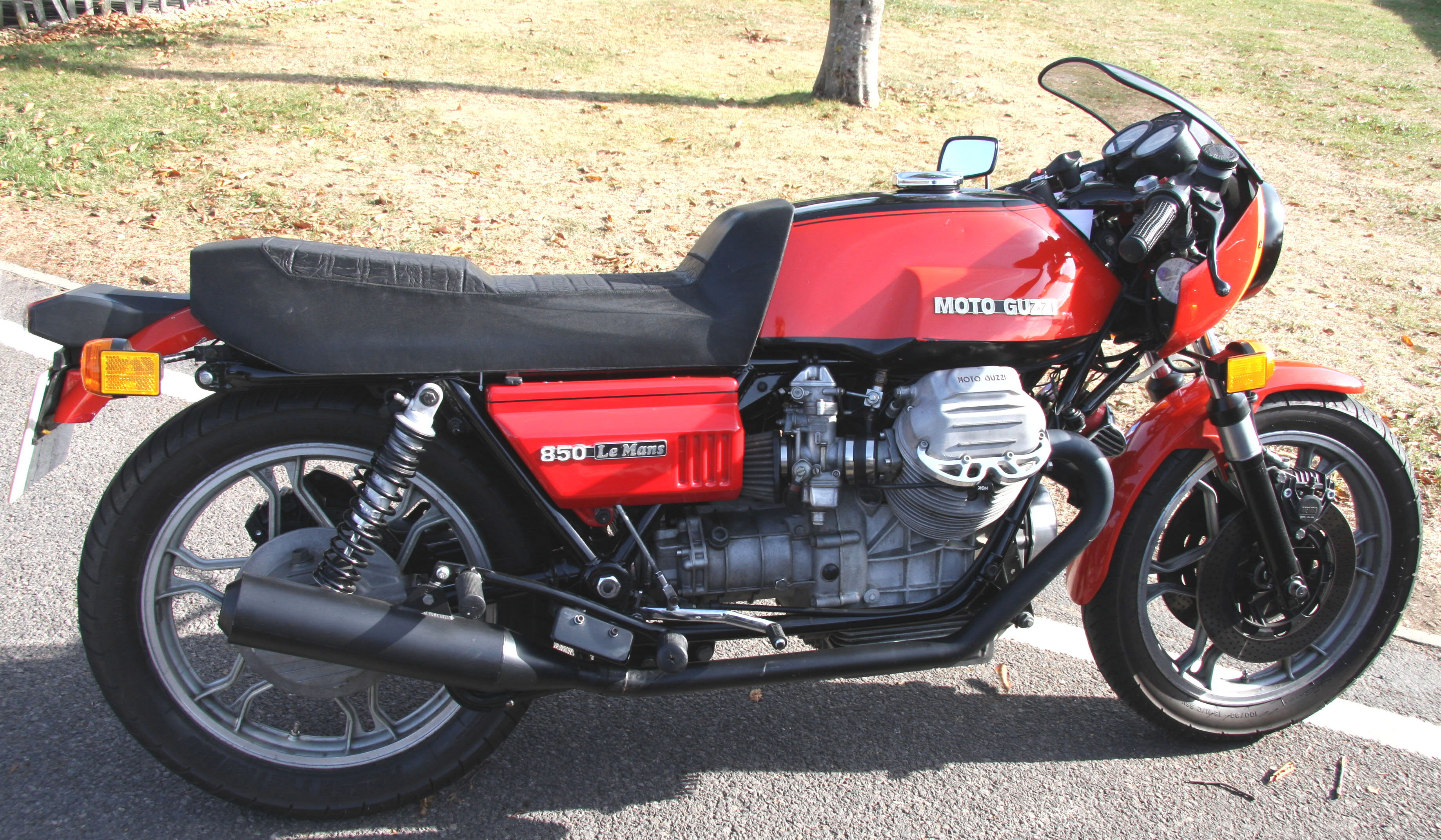 Moto Guzzi 850 California 1975 images #107135
