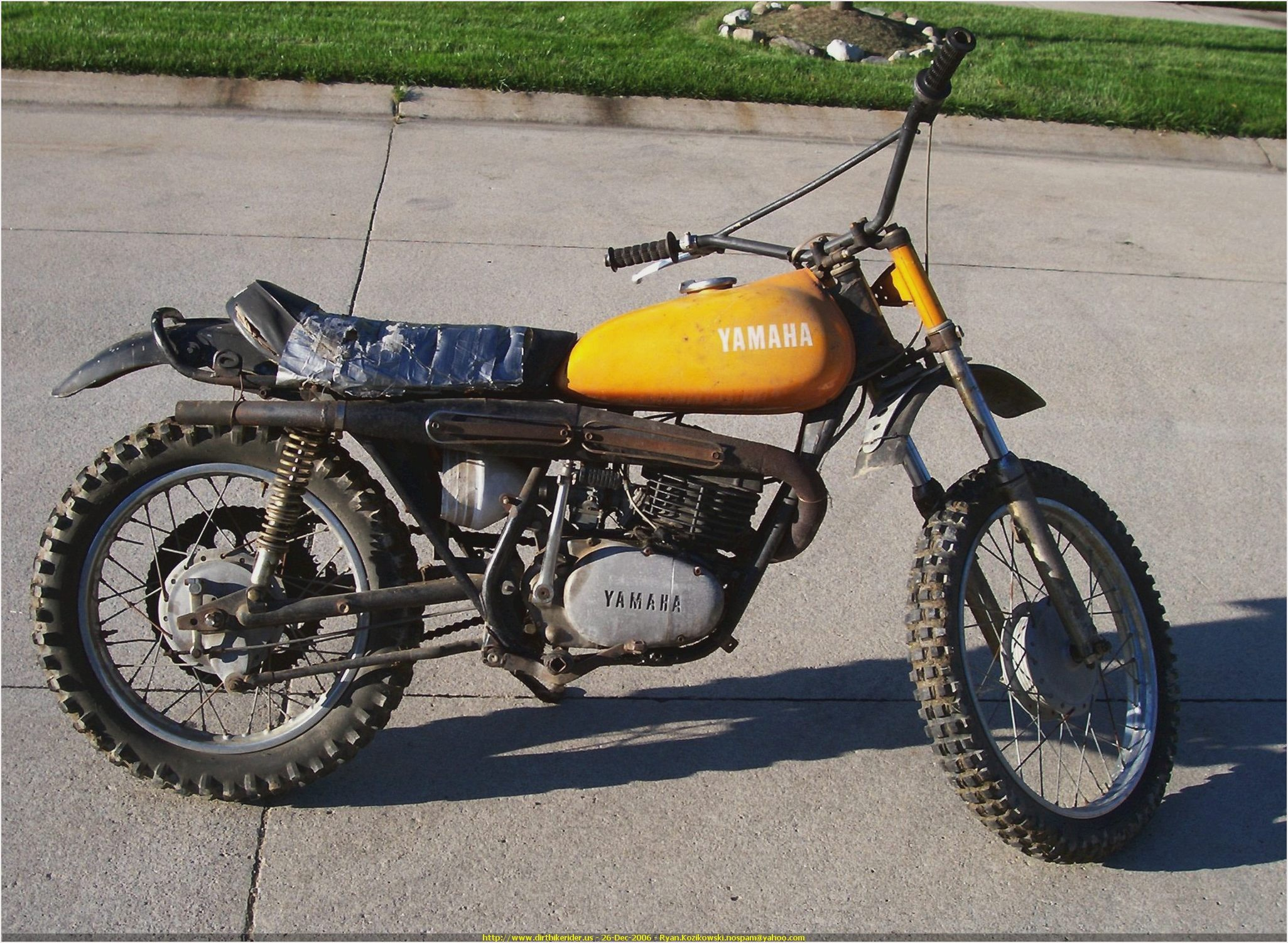 Yamaha DT 250 1973 images #90005