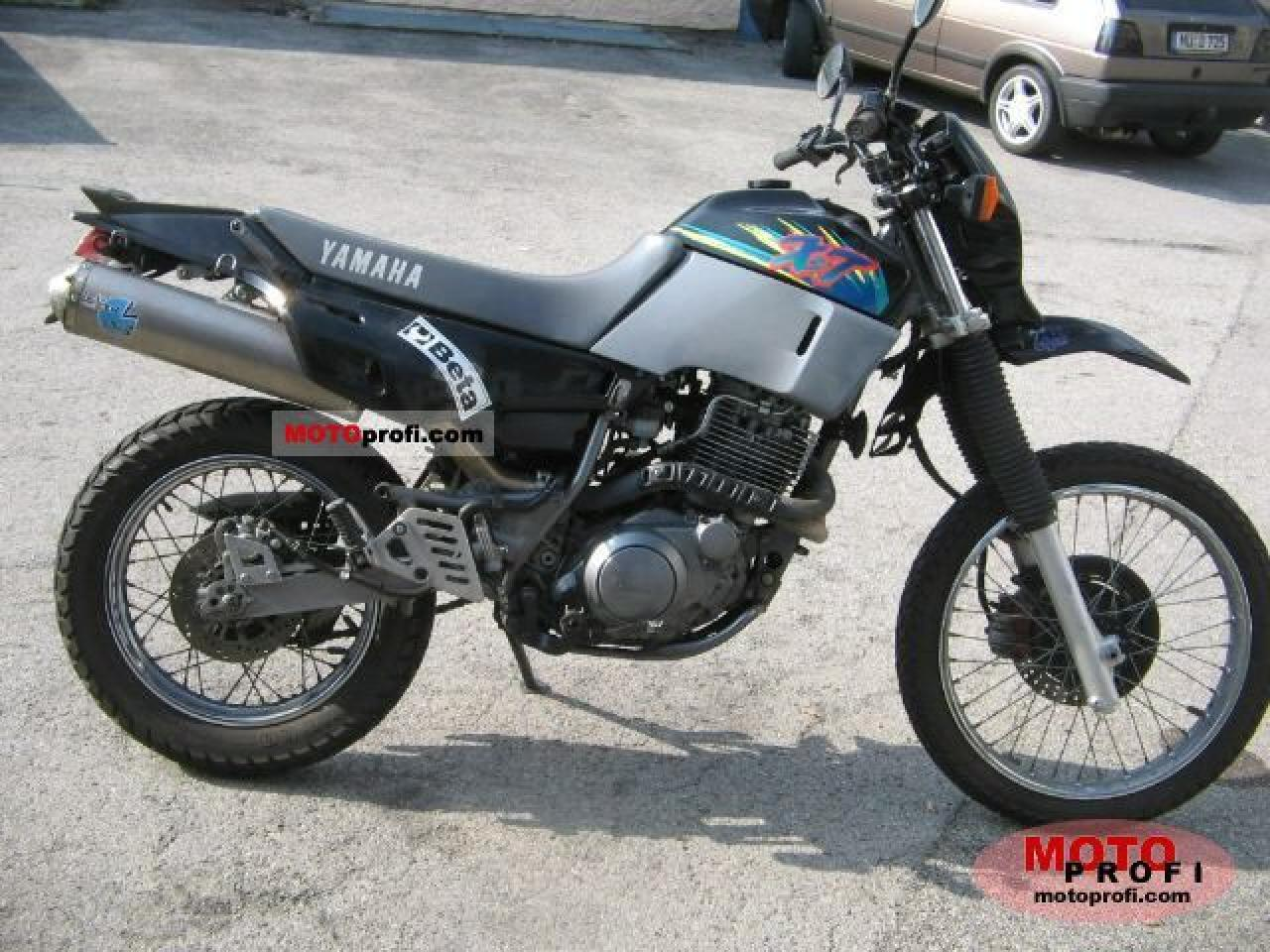 1995 yamaha xt 600 pics specs and information. Black Bedroom Furniture Sets. Home Design Ideas