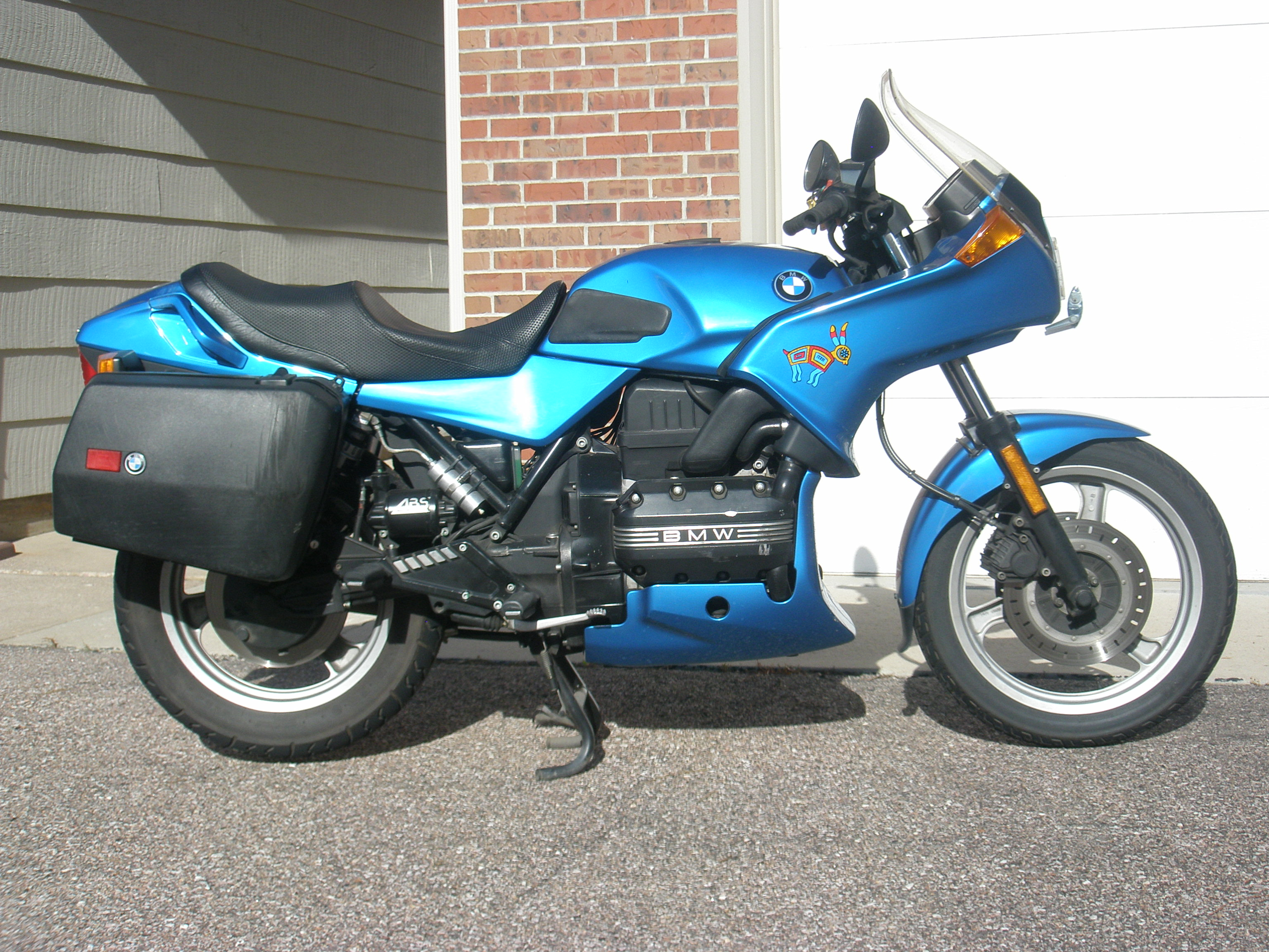 1993 bmw k75s pics specs and information. Black Bedroom Furniture Sets. Home Design Ideas