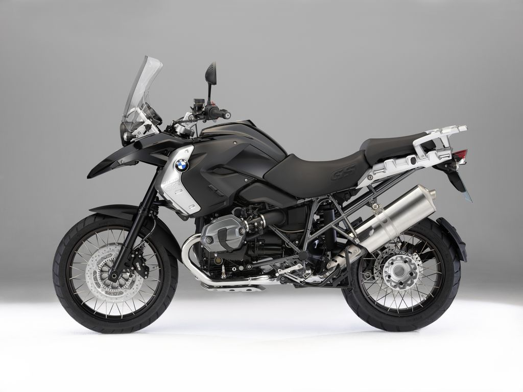 BMW R1200GS Triple Black 2011 images #8695