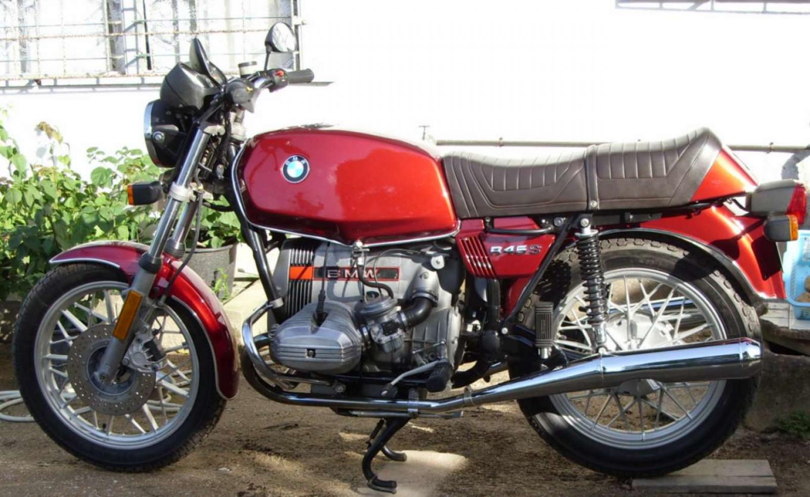 BMW R45 (reduced effect) 1982 images #4436