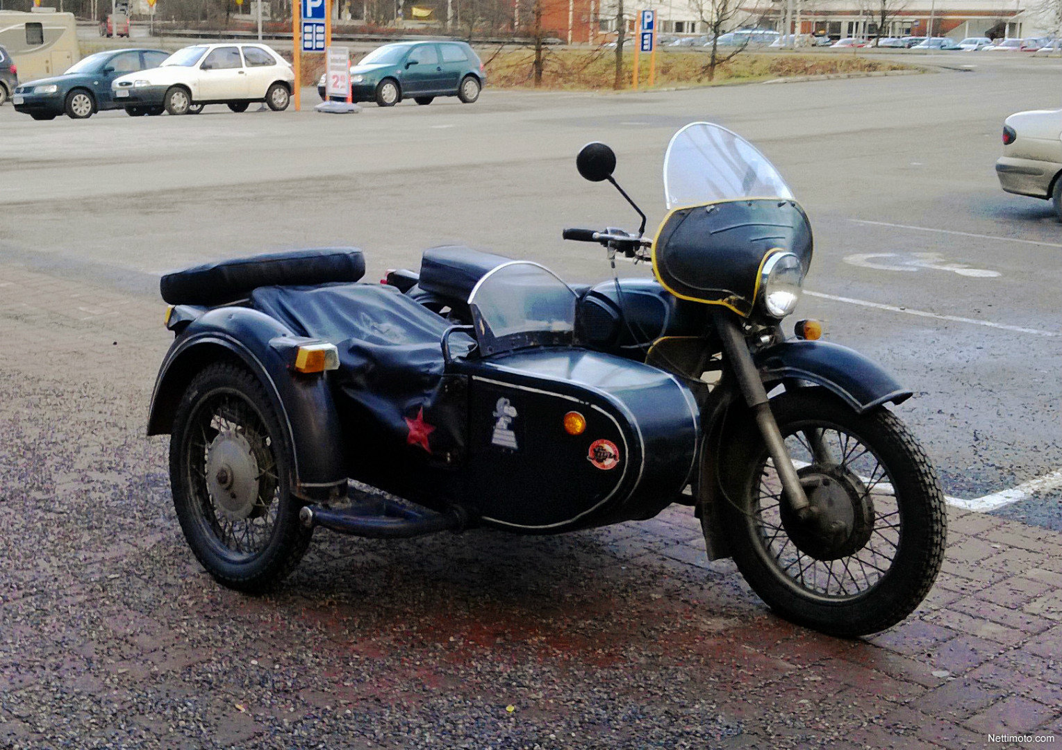 Dnepr MT 10 with sidecar 1975 images #70865