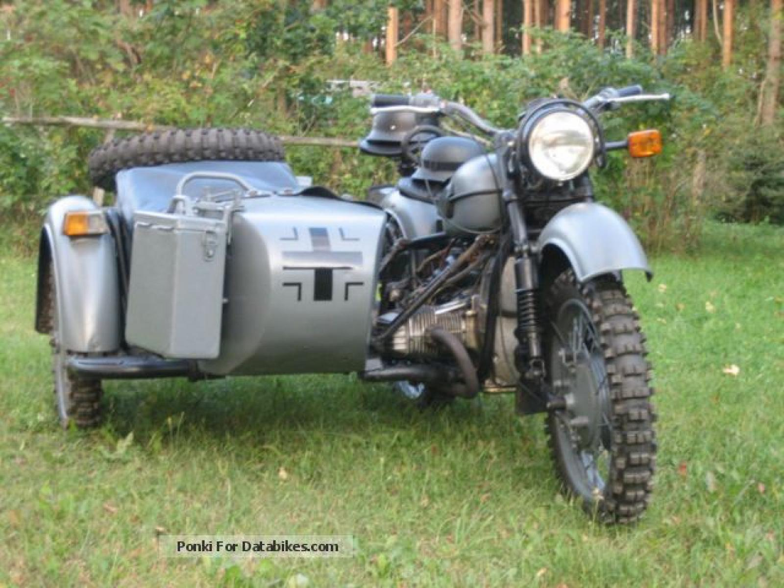 Dnepr MT 12 with sidecar 1983 images #95448