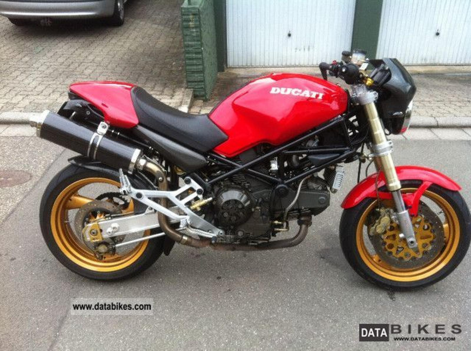 Ducati 900 Monster S 1998 images #78786