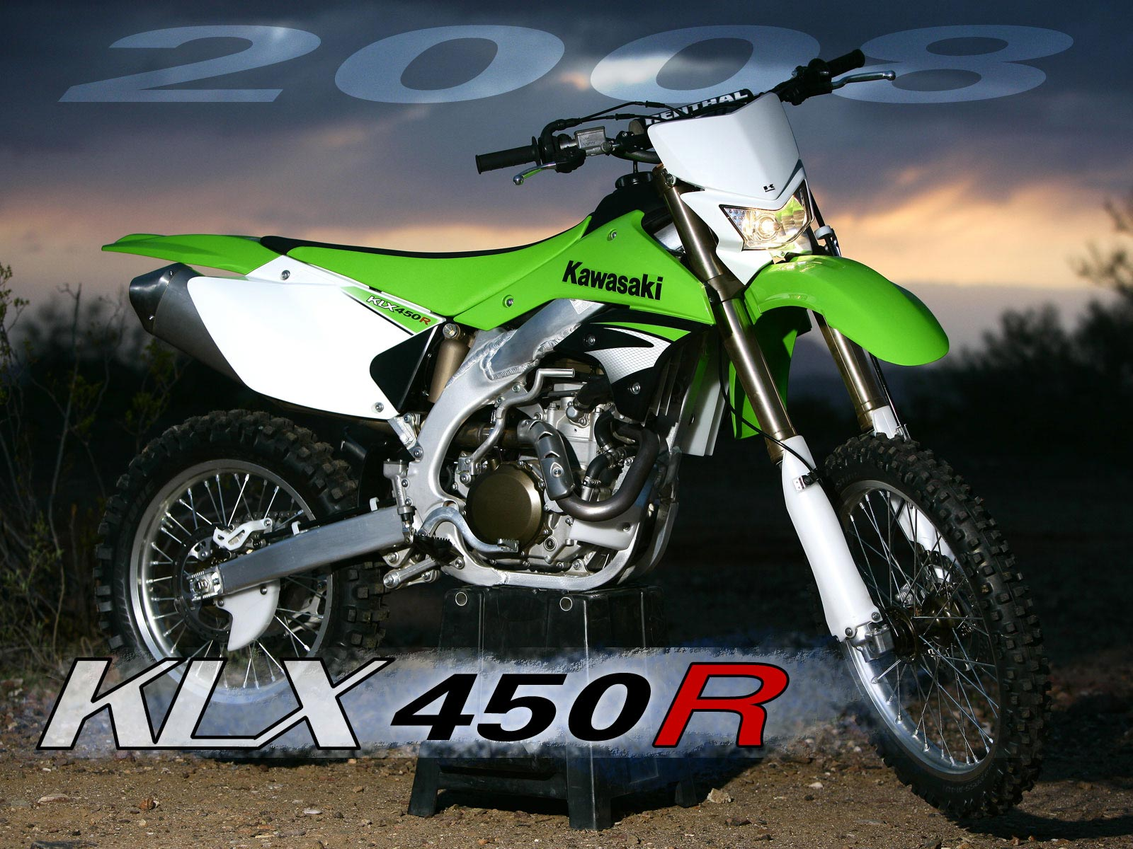 Kawasaki KLX 450R: pics, specs and list of seriess by year