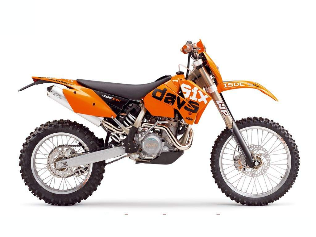 KTM 450 EXC Racing 2005 images #86423