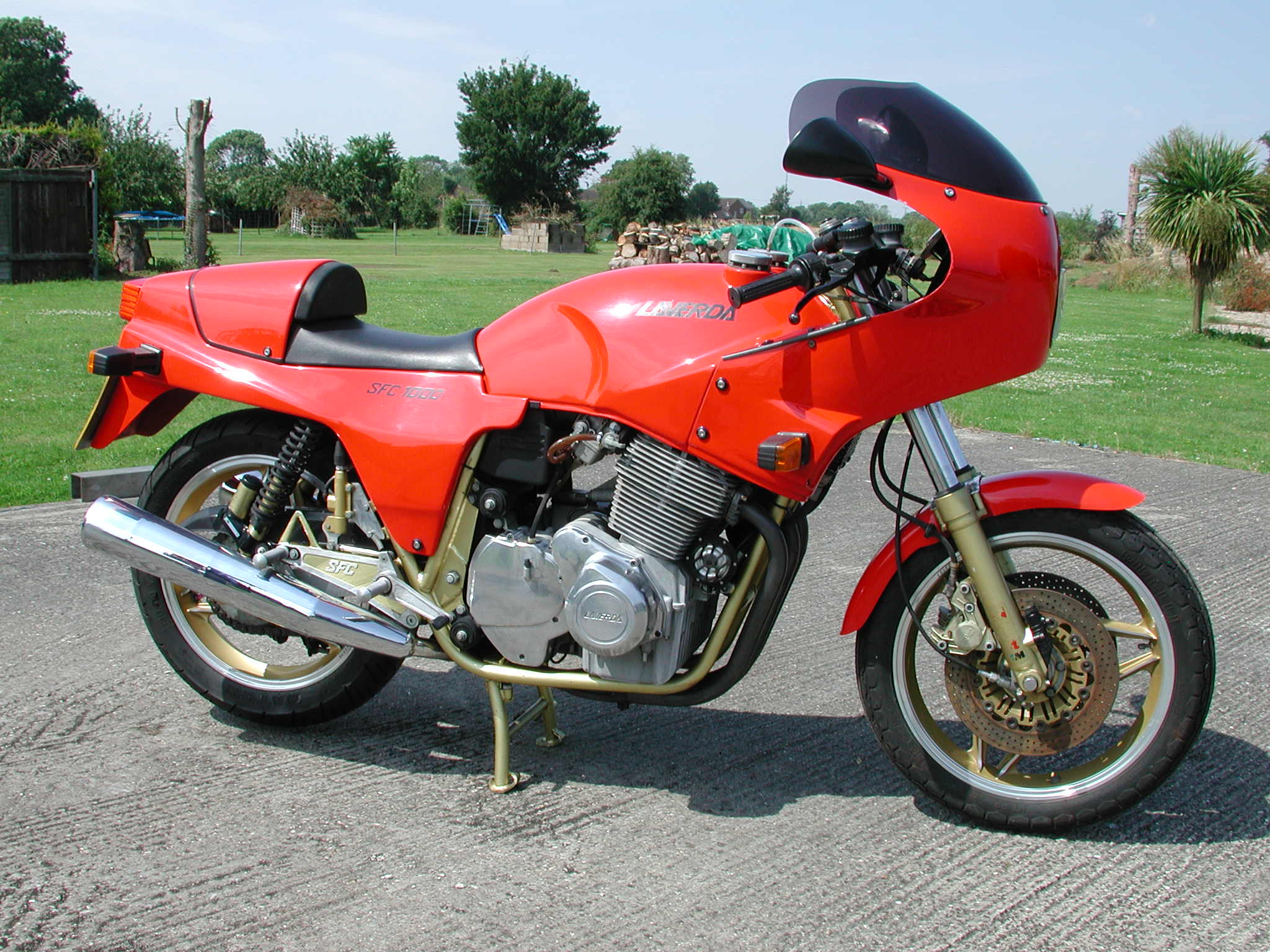 Laverda 1000 SFC 1986 wallpapers #144395