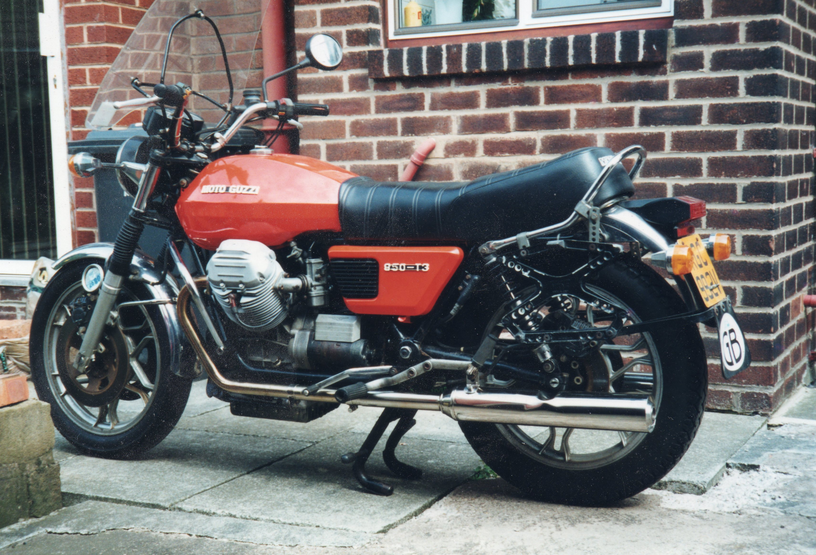 Moto Guzzi 850 California 1975 images #107136