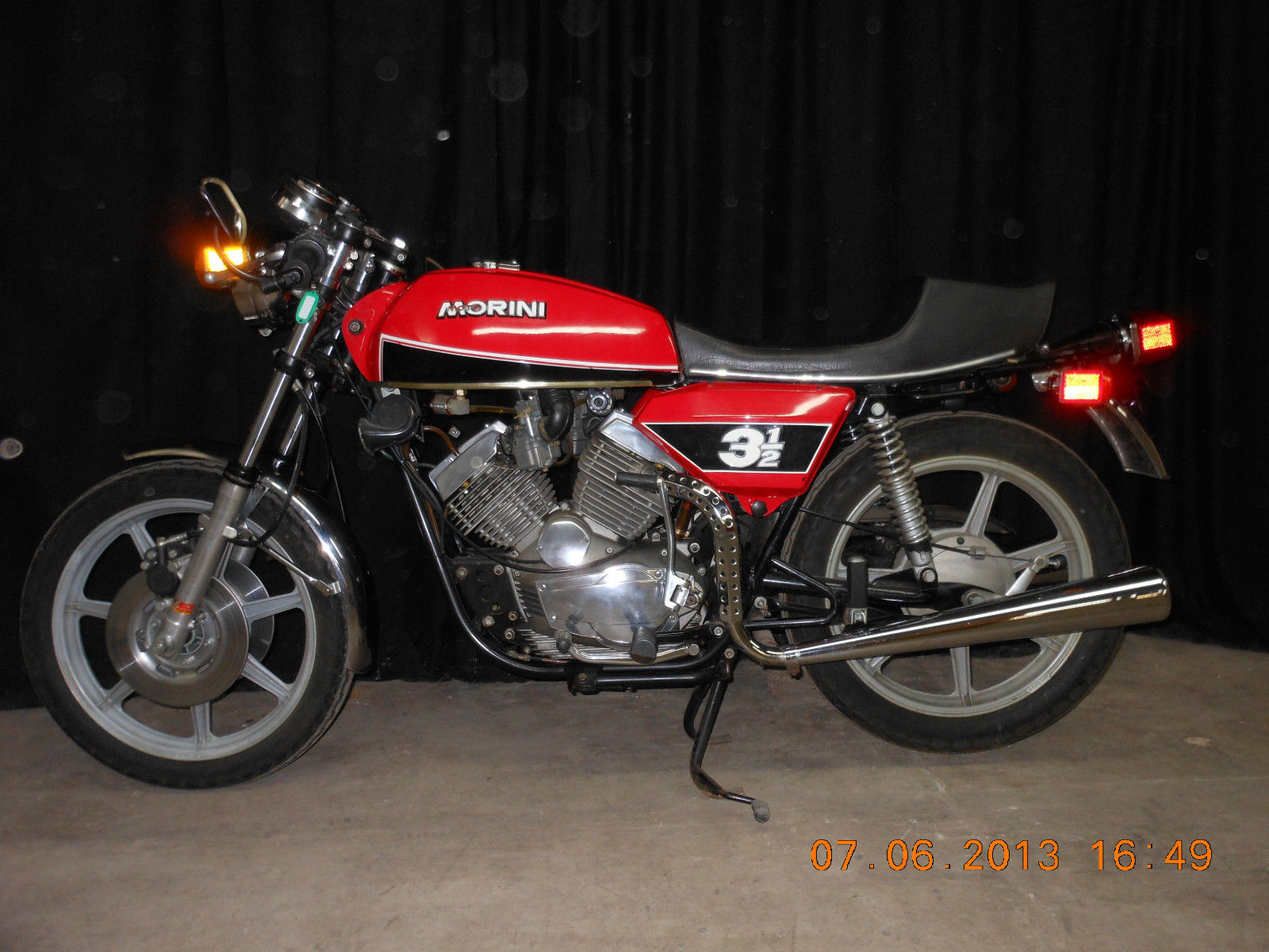 Moto Morini 3 1/2 Touring 1979 wallpapers #140035