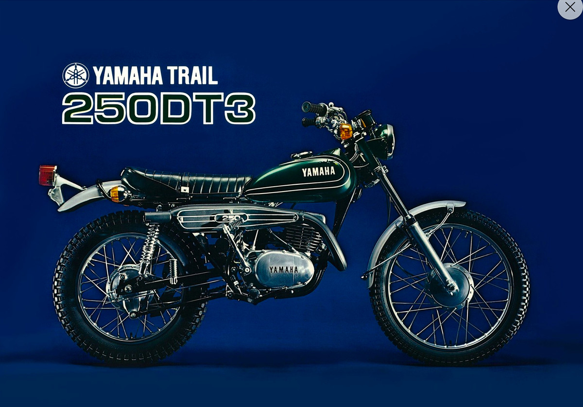 Yamaha DT 250 1973 images #90006