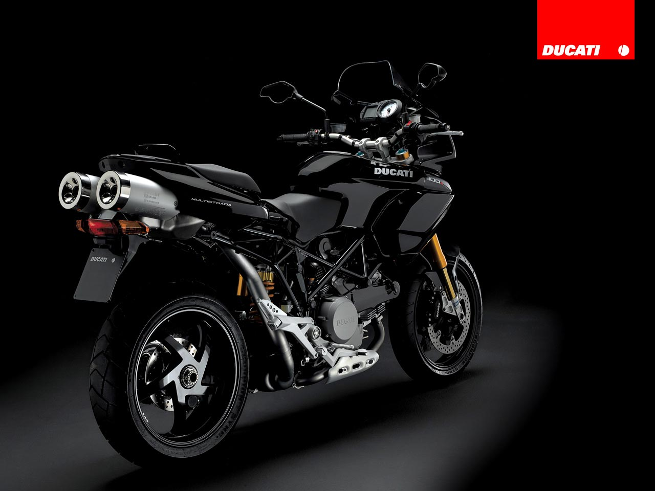 Ducati Multistrada 1100 S 2008 wallpapers #12768