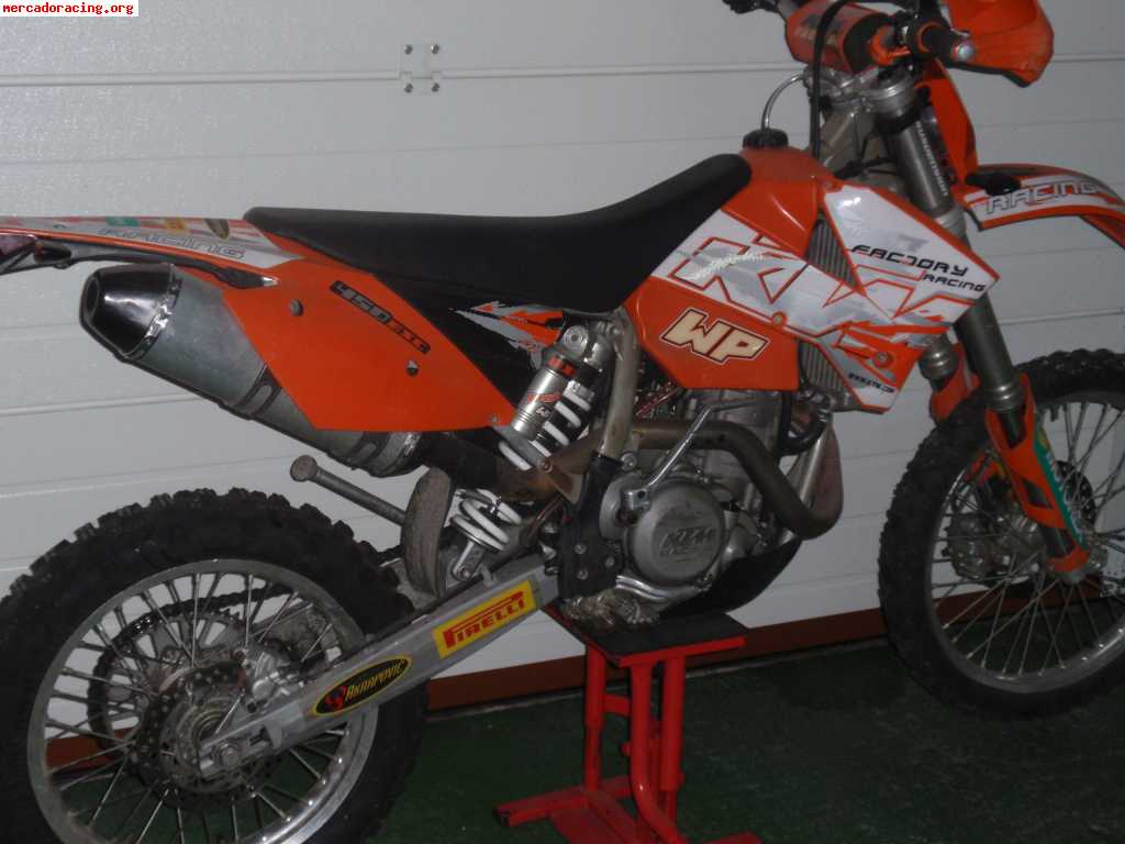 KTM 450 EXC Racing 2005 images #86424