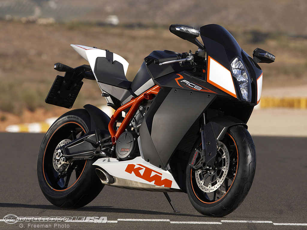 KTM RC8 2009 wallpapers #135471