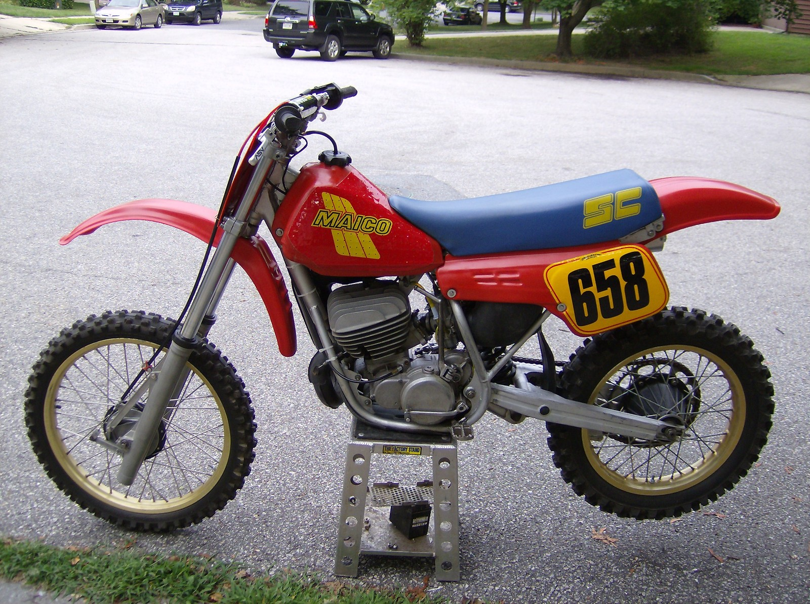 Maico GME 250 1984 images #102390