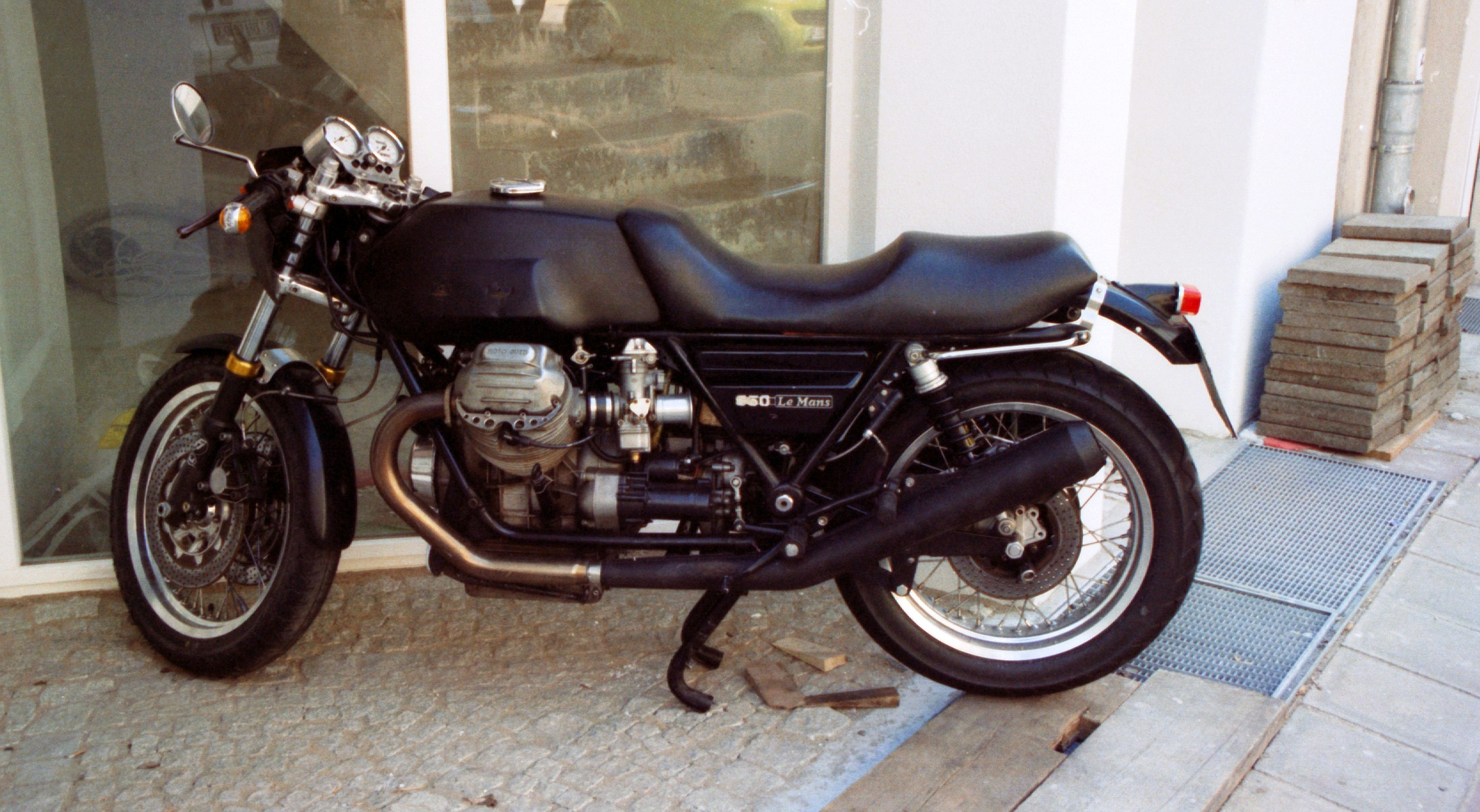 Moto Guzzi 850 California 1975 images #107137