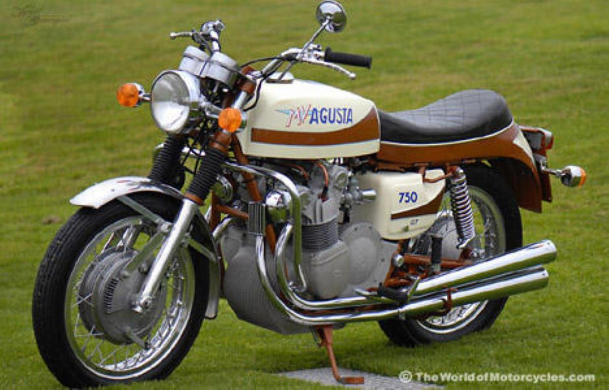 MV Agusta 750 GT 1972 images #113438