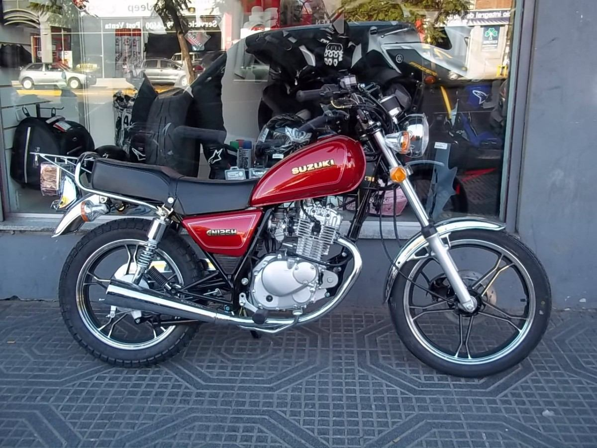 1990 suzuki gn 125 e pics specs and information. Black Bedroom Furniture Sets. Home Design Ideas