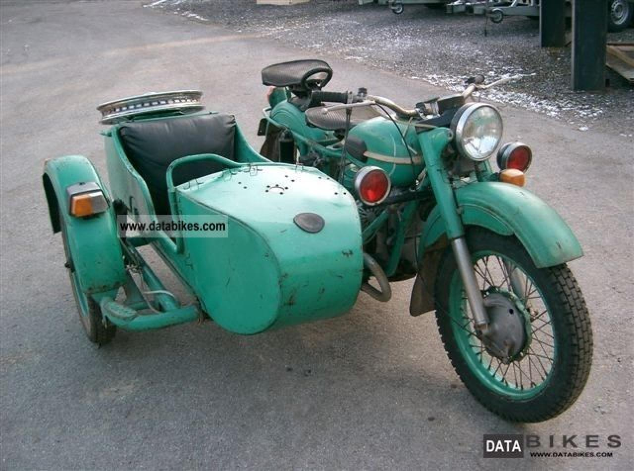 Ural M-63 with sidecar 1975 images #127071