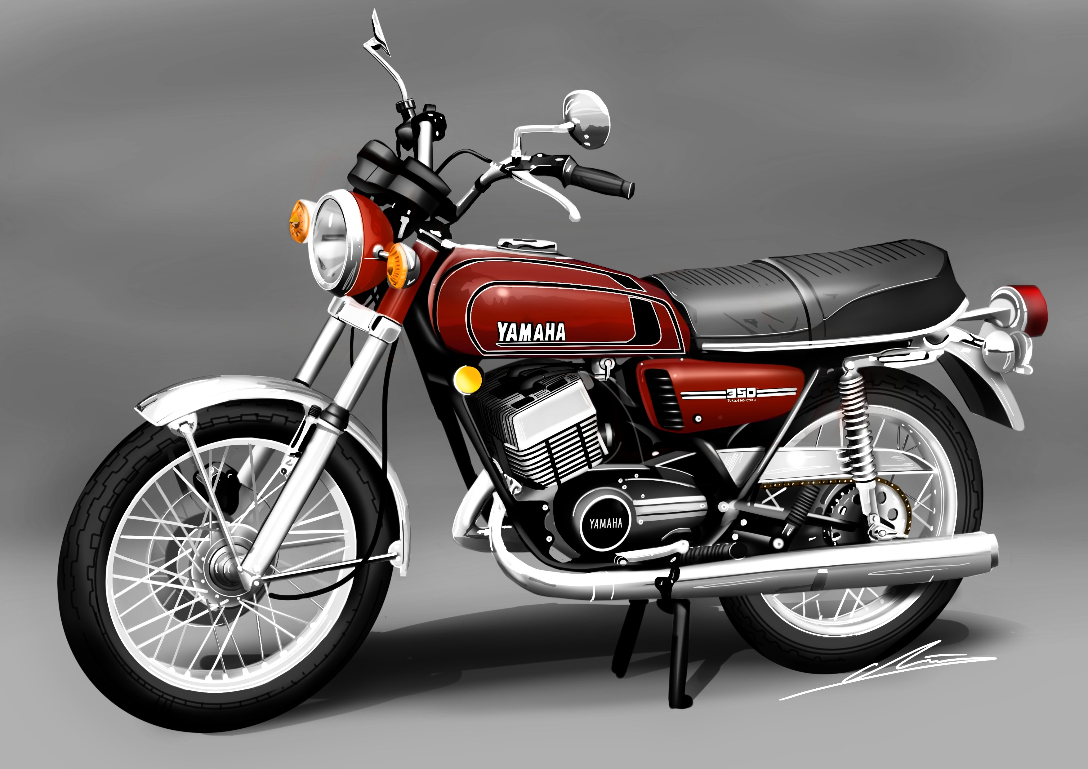 Yamaha RD 350: pics, specs and list of seriess by year ...
