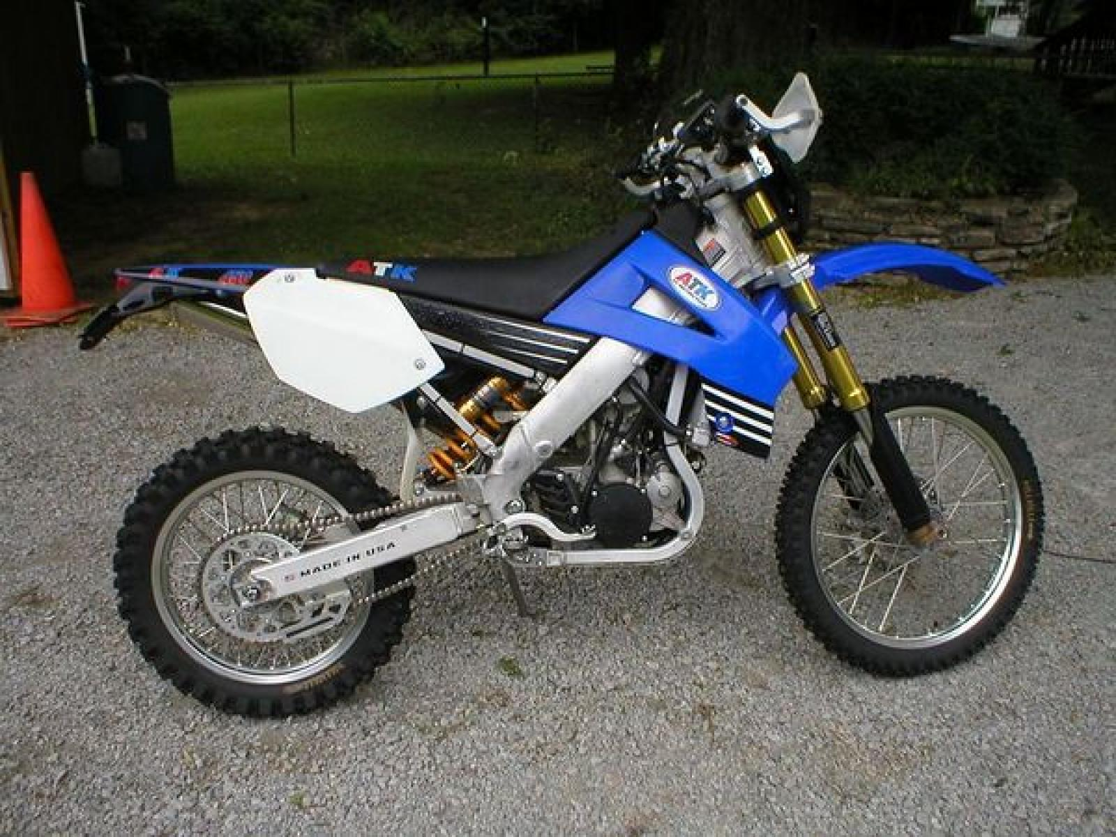 2008 ATK 450 Enduro: pics, specs and information ...