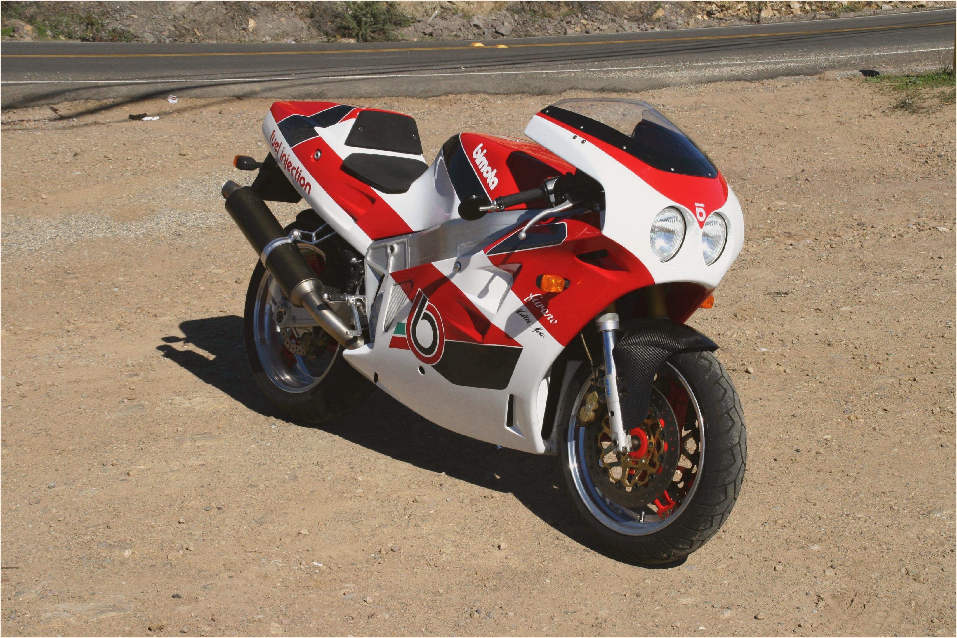 Bimota YB 10 Dieci Biposto 1991 wallpapers #137056