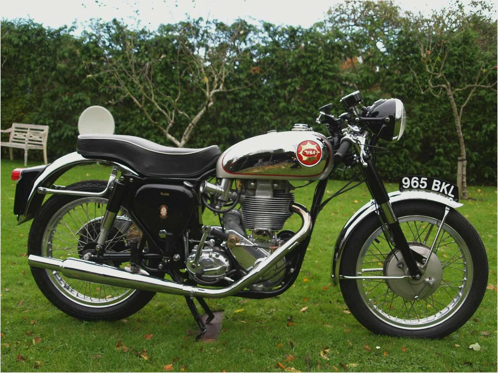BSA SR 500 Gold images #65338