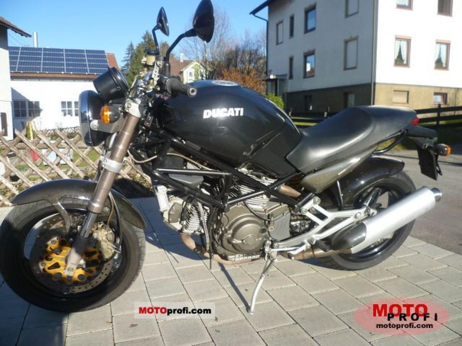 Ducati 900 Monster S 1998 images #78788