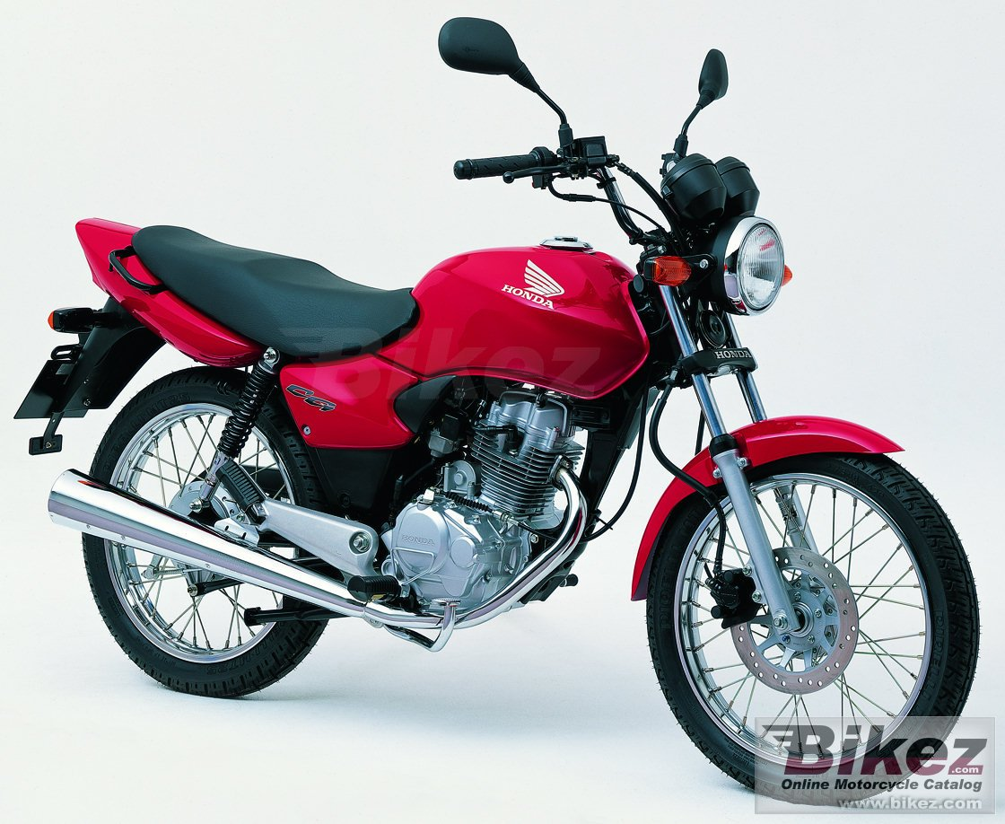 2002 honda cg 125 pics specs and information. Black Bedroom Furniture Sets. Home Design Ideas
