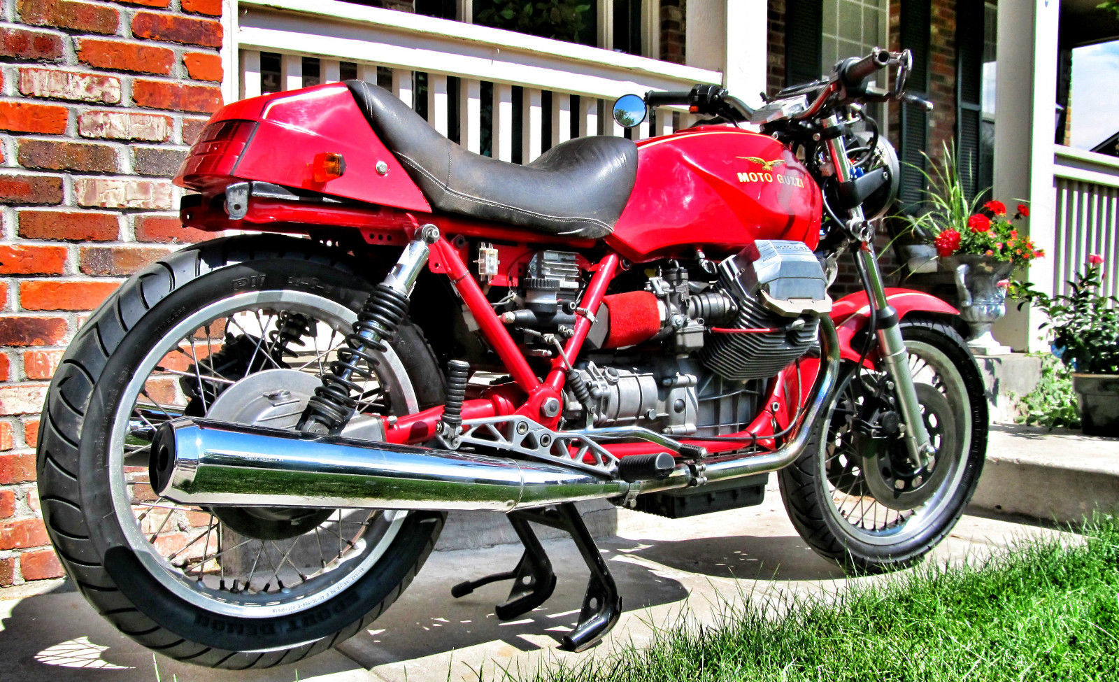 Moto Guzzi Mille GT 1000 1987 wallpapers #139440